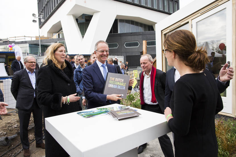 Minister Kamp op Innovation Expo 2016